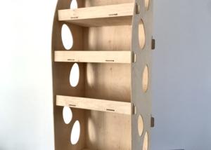 дървен дисплей Н4
